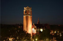 picture of tower at University of Florida